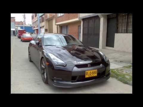 Nissan Gtr En Bogota Colombia Youtube