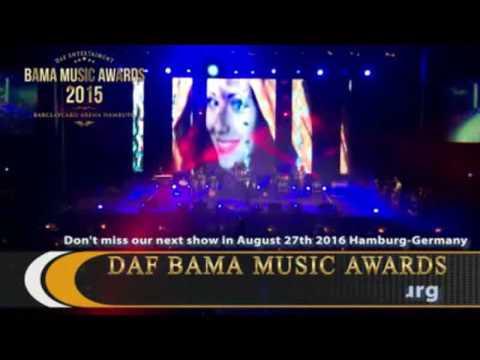 BIG APPLE MUSIC AWARDS TO SHAFIQ MUREED -  HAMBURG GERMANY