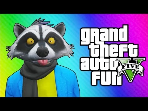 Thumbnail: GTA 5 Online Funny Moments - The Zoo, Finding a Horse, Poop Tunnel, Crazy Taxi Driver!