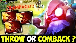 Funkefal Tinker Epic Rampage With Crazy Fast Hands | WTF Throw Or Comeback