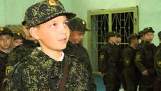 Первое сентября отметили и в серовском кадетском корпусе