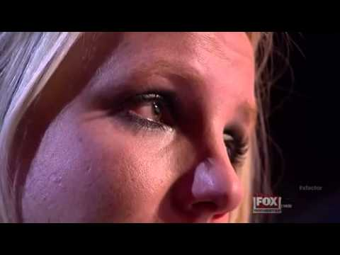 Britney Spears crying X factor