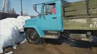 ГАЗ 3307 Дизель.Первый выезд.Тест-драйв.GAS 3307 Diesel engine.The first departure.Test drive.