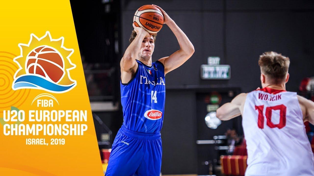 Poland v Italy - Full Game - FIBA U20 European Championship 2019