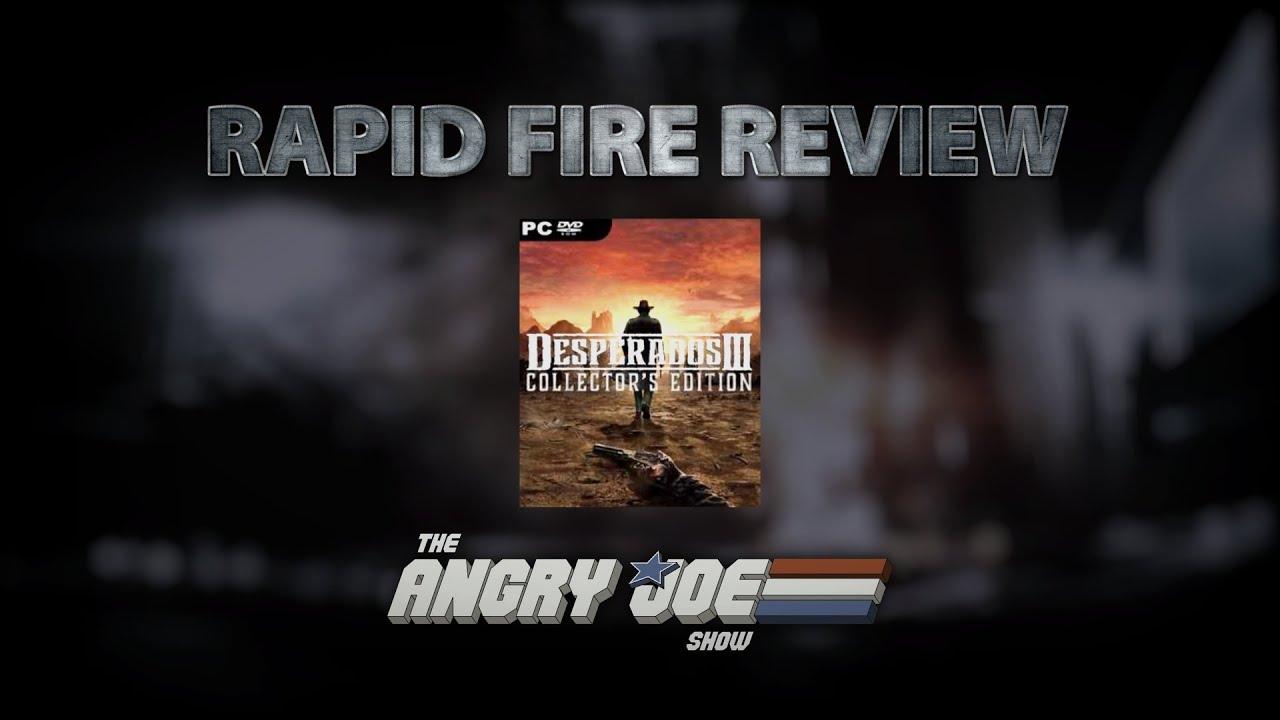 Desperados Iii Rapid Fire Review Youtube