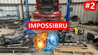 Fire and Water IMPOSSIBLE REBUILD Subaru STI Part 2