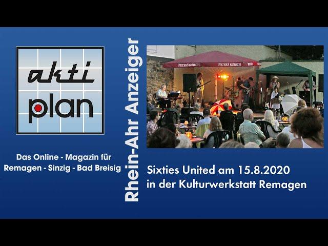 Sixties United in der Kulturwerkstatt Remagen