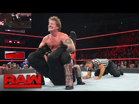 Roman Reigns vs. Chris Jericho - United States Championship Match: Raw, Dec. 5, 2016