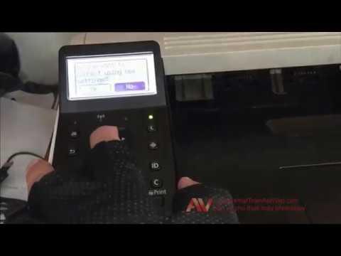 Canon LBP 252dw Printer | Cài đặt kết nối máy in Canon qua mạng không dây wifi trên win 10 64 bit