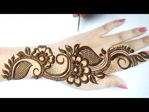 3 ऐसी आसान अरेबिक मेहँदी ट्रिक जो आपको पसंद आएँगी - Easy Rakhi Special Mehndi & Eid Special Henna