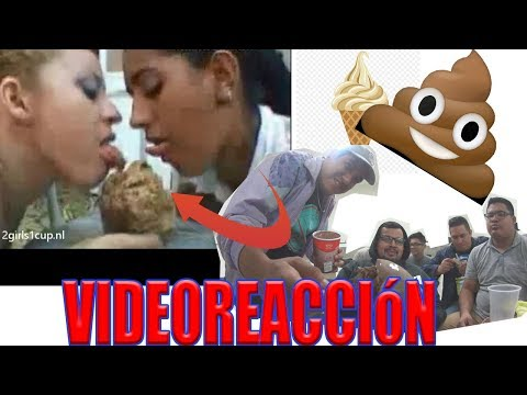 Two Girls One Cup Video reaccion Mientras comemos nieve 💩🤢