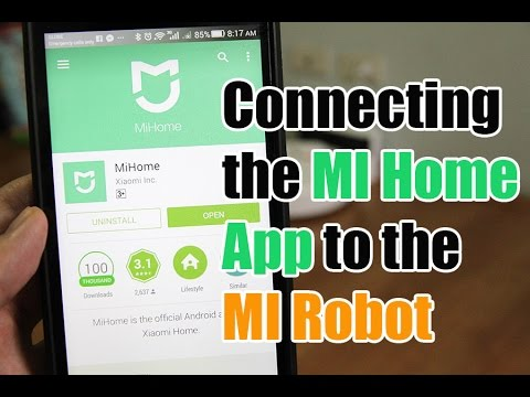 How To Connect The Mi Home App Robot Vacuum