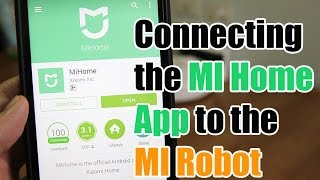 How to Connect the MI Home App to the MI Robot Vacuum screenshot 3