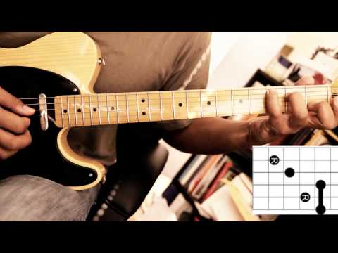 Soukous Guitar - Demo 2 - Chord Shapes and Position Playing