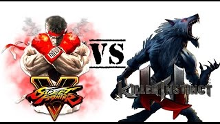 Killer Instinct (Xbox One) Vs Street Fighter V (PS4)