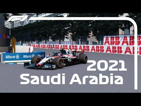 Pierre Gasly Saudi Arabia ONBOARD   F1 2021 Saudi Arabian Grand Prix