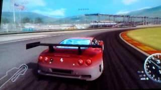 Ferrari challenge ps3 mugello record ferrari 575 GTC