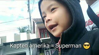 Daily Vlog Albee | Kapten Amerika, Superman, lagu Indonesia Raya