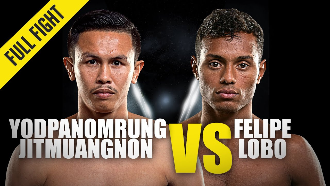 Yodpanomrung vs. Felipe Lobo | ONE Championship Full Fight
