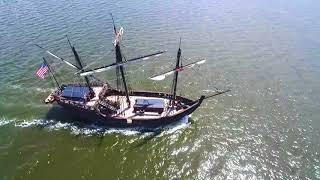 Niña and Pinta Dock @ Baytowne Marina 😱🇺🇸