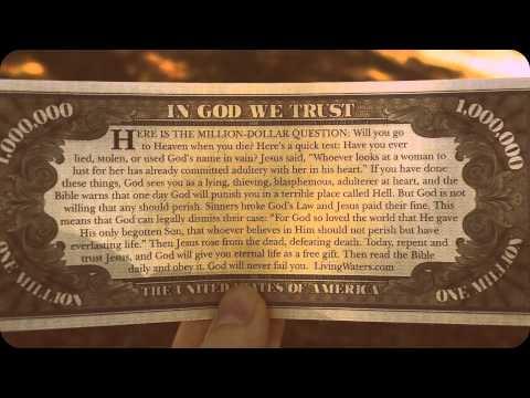 The Million Dollar Bill (Gospel Tract)