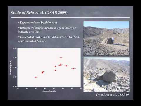 Greg Balco - Cosmogenic-Nuclide Geochronology