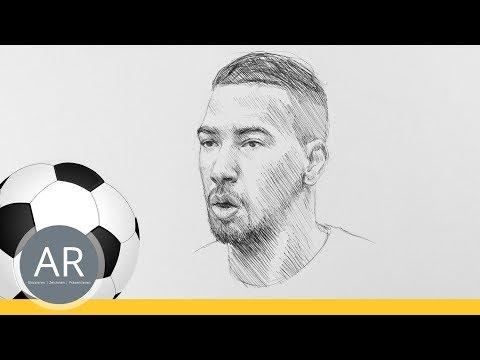 Fussball Quiz Teil 2 11 Wie Zeichne Ich Ein Portrat