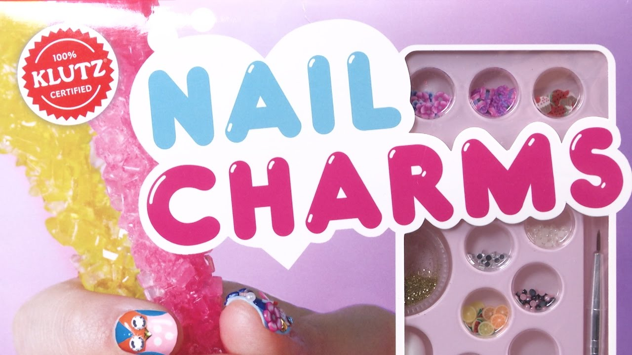Nail Charms from Klutz - YouTube