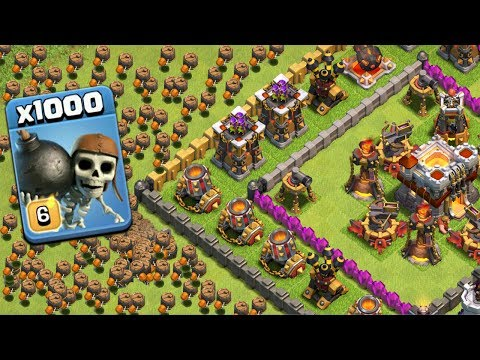 1000 Wall Breaker Dramatic Attack On COC | Modded Apps Game Play