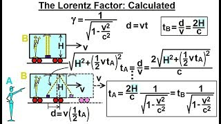 Physics - Relativity: Understanding Space, Time & Relativity (7 of 55) Lorentz Factor Calculated