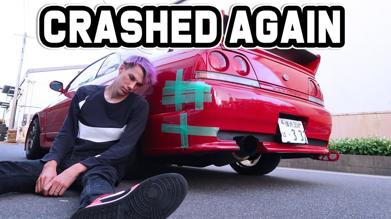 OOPS I DID IT AGAIN! - Crashed my drift car