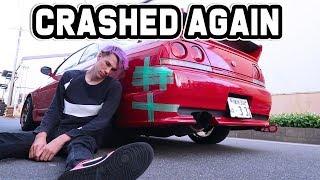 OOPS I DID IT AGAIN! - Crashed my drift car