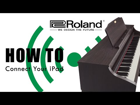 How to Connect an iPad to your Roland Piano 2015
