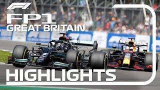 FP1 Highlights: 2021 British Grand Prix