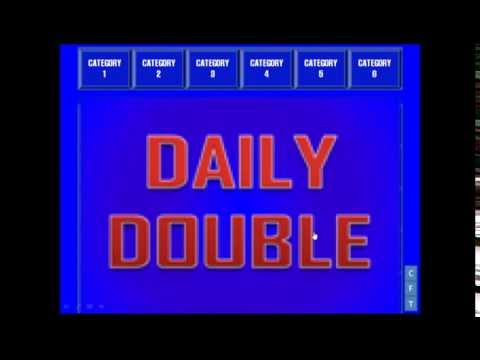 My Jeopardy! PowerPoint (With Template Link Below)