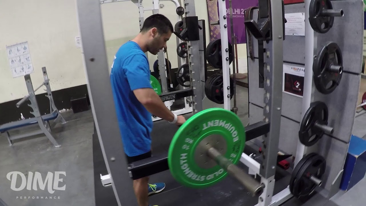 Bottom position squats remarkable, the