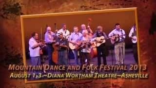 Mountain Dance and Folk Festival 2013 Promo