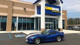 I Took My Dodge Viper to CarMax For an Appraisal