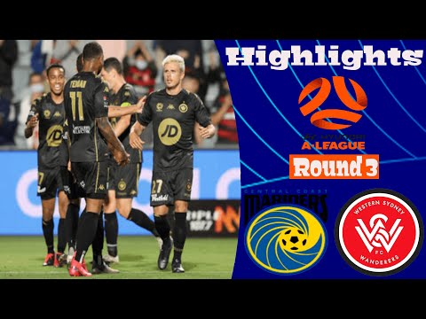Central Coast Western Sydney Wanderers Goals And Highlights