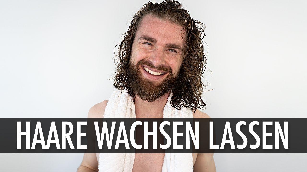 Extrem lange haare mann
