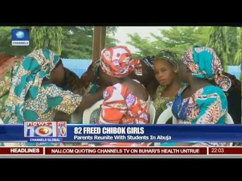 Tearful Reunion As Parents, Chibok Girls Meet After 3 Years