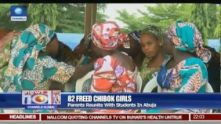 Tearful Reunion As Parents, Chibok Girls Meet After 3 Years