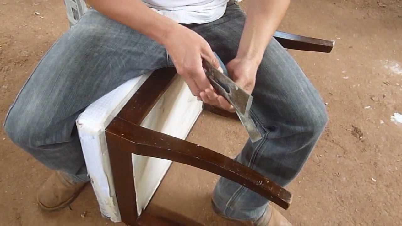 Como Renovar Un Mueble De Madera - YouTube