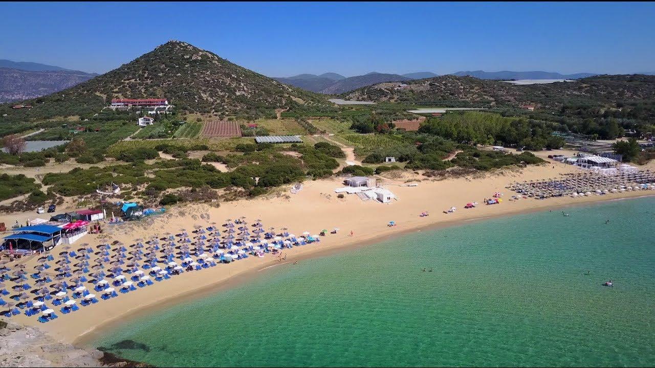 Ammolofoi Beach Kavala Greece Αμμόλοφοι Καβάλας