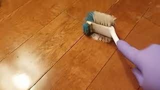 How to remove wax and other buildup from prefinished hardwood floors