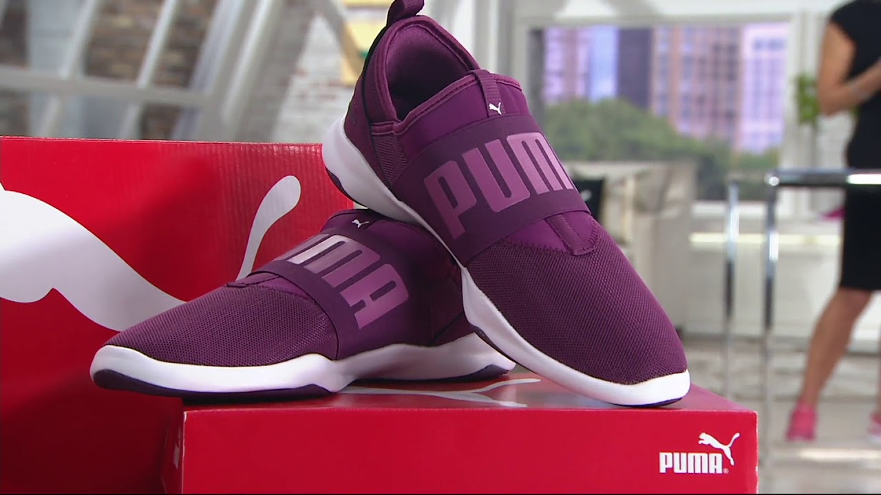 eb4b5faf3f6e6e PUMA Mesh Slip-On Sneakers - Dare on QVC - YouTube