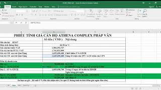 Chính sách bán hàng chung cư Athena Complex Pháp Vân ngày 3 9 2020. Hotline : 0939 063 368