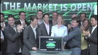 C100 opens Toronto Stock Exchange, October 10, 2012