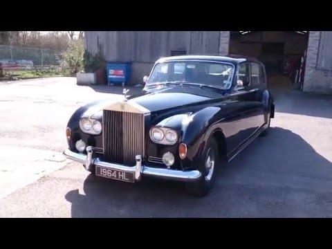 1963 Rolls-Royce Phantom V Dark Blue