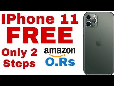🔥How To Get A FREE IPhone 11 Pro- Free IPhone 11 Pro - IPhone 11 Free| Free IPhones Free Smartphone